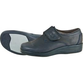 Calzado unisex azul. Zapato Aspromin