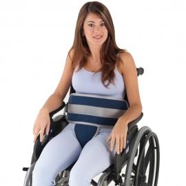 Sujeción a silla de ruedas con cierre rápido en forma de T