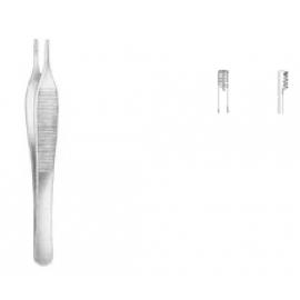 Adson-Brown pinza de disección con dientes