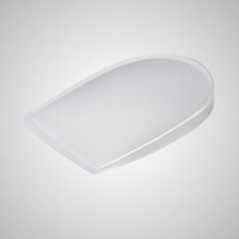 Talonera pronosupinadora acompañada de talonera neutra | Silicona | Envase 2 unidades | Varias tallas | SH600 | Emo