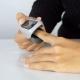Pulsioxímetro de dedo | Onda pletismográfica | SpO2 | Frecuencia cardíaca | Pantalla OLED | Gris - Foto 4