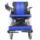Silla de ruedas eléctrica | Plegable |Auton. 20 km | Aluminio | 24V | Azul y negra | Lyra | Mobiclinic - Foto 1