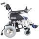 Silla de ruedas eléctrica | Plegable |Auton. 20 km | Aluminio | 24V | Azul y negra | Lyra | Mobiclinic - Foto 2