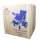 Silla de ruedas eléctrica | Plegable |Auton. 20 km | Aluminio | 24V | Azul y negra | Lyra | Mobiclinic - Foto 9
