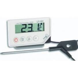 Termómetro digital con sonda en pincho | 52x86x20 | Alarma óptica y acústica