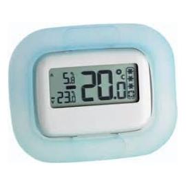 Termómetro para neveras y congeladores | 91x72x13mm | Memoria max-min | Soporte para sobremesa y marco adhesivo