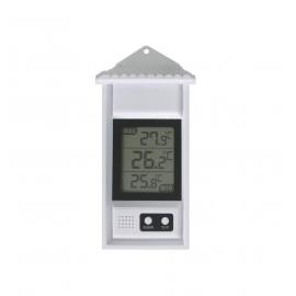 Termómetro exterior digital | Resistente al agua | Memoria máx/mín
