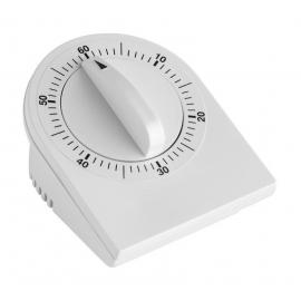 Temporizador analógico   Alarma sonora   75x57x93mm   1 hora