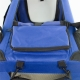 Transportín para mascotas | Talla L | Soporta 15 kg | 67x50x49 cm | Plegable | Azul | Balú | Mobiclinic - Foto 3