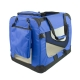 Transportín para mascotas | Talla M | Soporta 10 kg | 60x42x44 cm | Plegable | Azul | Balú | Mobiclinic - Foto 2