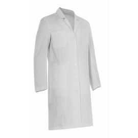 Bata sanitaria caballero | Manga larga | Blanca | Varias tallas