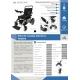 Silla de ruedas eléctrica | Plegable | Auton. 17 km | Aluminio | 24V Ligera | Segura y cómoda| Troya | Mobiclinic - Foto 4
