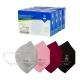 40 Mascarillas Adulto FFP2 | Varios colores | Autofiltrantes | Marcado CE | 4 cajas de 10 uds | EMO - Foto 1