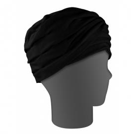 Turbante negro | Talla universal | Modelo lirio