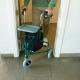 Andador para ancianos   Plegable   Freno en manetas   3 ruedas   Cesta   Verde   Caleta   Mobiclinic - Foto 8