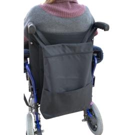 Bolso para silla de ruedas | Modelo Pétalo | 30-34x47x9 cm