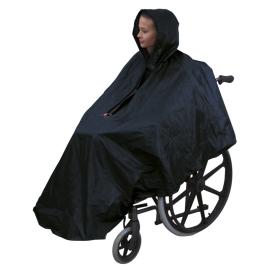 Impermeable para silla de ruedas | Capa poncho de lluvia | Chubasquero universal