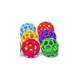Set de 6 pelotas de actividades   10 cm   6 colores
