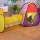 Tienda de campaña para juegos infantil | Doble carpa con túnel | Plegable | Incluye bolas | Fortaleza | Mobiclinic - Foto 7