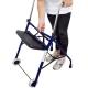 Andador para ancianos   Plegable   Asiento   2 ruedas   Azul   Emérita   Mobiclinic - Foto 9