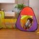Tienda de campaña para juegos infantil | Doble carpa con túnel | Plegable | Incluye bolas | Fortaleza | Mobiclinic - Foto 6