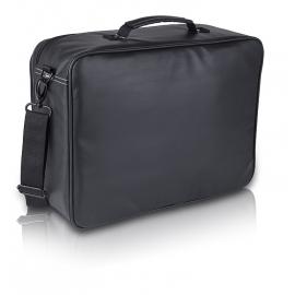 Cartera básica para visitas | 600D Polyester inverted | Negro | Elite Bags