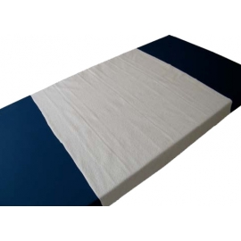 Travesero empapador rizo   90x190   100% algodón   2 capas   ECO PU