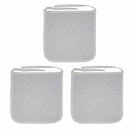Pack de 3 empapadores reutilizables para silla de ruedas | 40 x 38 cm | 450 lavados | Mobiclinic