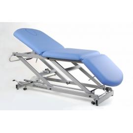 Camilla hidráulica tipo sillón de tres secciones | (70+62+52)x62cm | Altura regulable | CH-2137-R