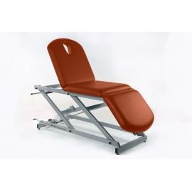 Camilla hidráulica tipo sillón de 3 secciones | (70+62+52)x62cm | Regulable en altura | CH-2137