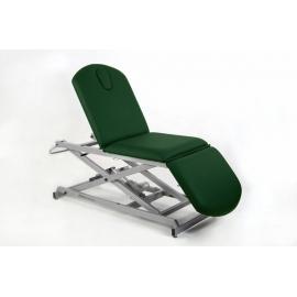 Camilla eléctrica tipo sillón de tres cuerpos | (52+62+75)x62cm | Regulable en altura | CE-0137
