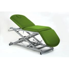 Camilla hidráulica tipo sillón de 3 secciones | (75+62+52)x62 cm | CH-0137