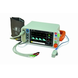 "Monitor Multiparamétrico VS2000 de 7"" (ECG, RESP, SpO2, NIBP, TEMP)"