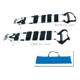 Férula de tracción adulta   Aluminio   Con bolsa de transporte
