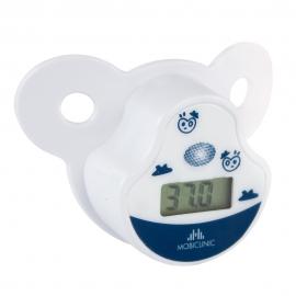 Termómetro digital con forma de chupete | Infantil | Chupete suave | Pantalla LCD | Mobiclinic