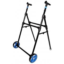 Andador para adultos | Acero | 2 ruedas | Plegable | Azul | Air On Zero | Forta