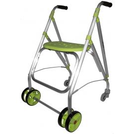 Andador rollator | Plegable | Aluminio | Pistacho | ARA-PLUS | Forta