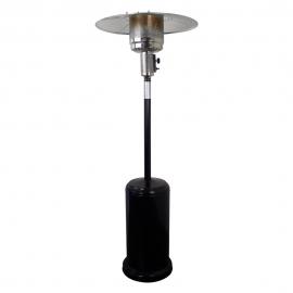Estufa de gas exterior con ruedas | Forma de seta | Gas butano | Negro | Nilo | Mobiclinic