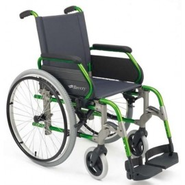 Silla de ruedas plegables de aluminio