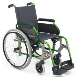 Sillas de ruedas plegables de aluminio