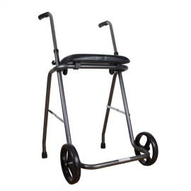 Zusammenfaltbarer Rollator mit zwei Rädern und einem Sitz   Der HÖCHSTER Rollator des Markts   Verstellbare Höhe   Apex Classic