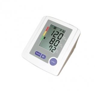 Tensiómetro digital automático de brazo. Detección de pulso irregular y 99 memorias.
