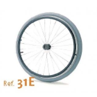 24 pneumatique en fauteuil roulant de roue
