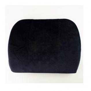 Coussin lombaire   Coussin visco-élastique   Anti-escarres   Couleur noir   Mobiclinic
