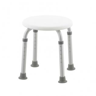 Chaise de douche / salle de bain | Réglable en hauteur | Embouts anti-glisse | Faro | Mobiclinic