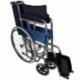 Fauteuil roulant pliable | Orthopédique | Léger | Noir | Alcázar | Mobiclinic - Foto 10