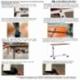 Table auxiliaire pour lit ou canapé | acier | hauteur réglable | Meseta | Mobiclinic - Foto 9