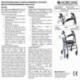 Déambulateur 4 roues | Pliable | Aluminium léger | Assise et dossier | Bordeaux | Escorial | Mobiclinic - Foto 12