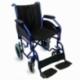 Fauteuil roulant pliant PREMIUM   Accoudoirs et repose pieds amovibles   Orthopédique   noir   Maestranza   Mobiclinic - Foto 1