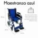 Fauteuil roulant pliable PREMIUM | Accoudoirs et repose-pieds amovibles | Orthopédique | Bleu | Maestranza | Mobiclinic - Foto 2